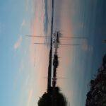 Kvällsbild hamnen